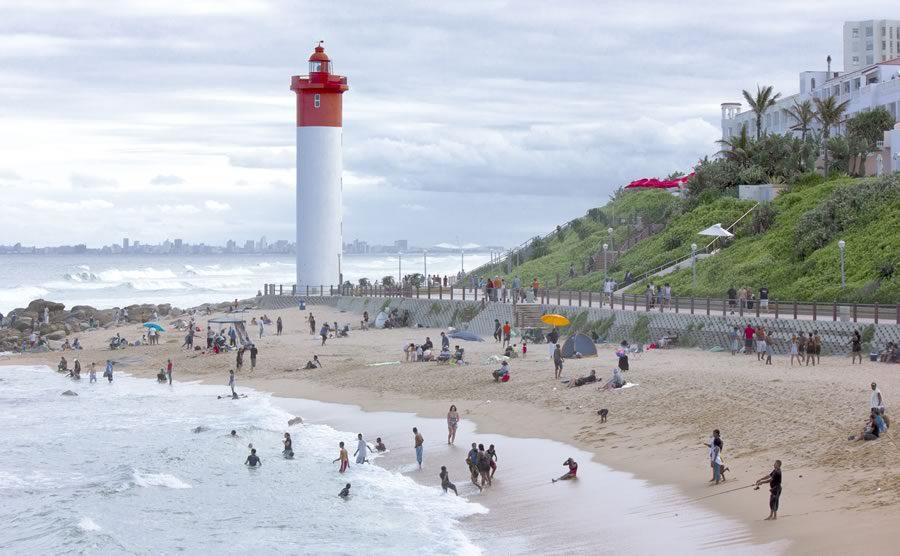 Umhlanga Rocks Beach Area