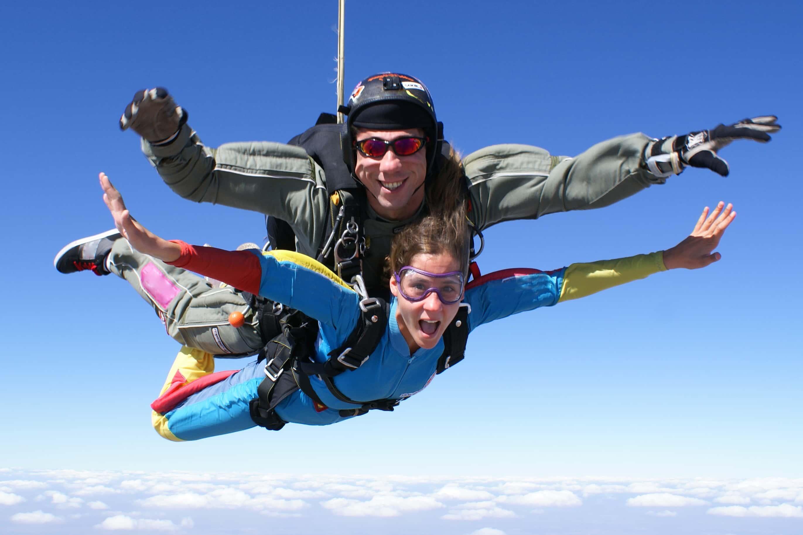 skydiving in durban